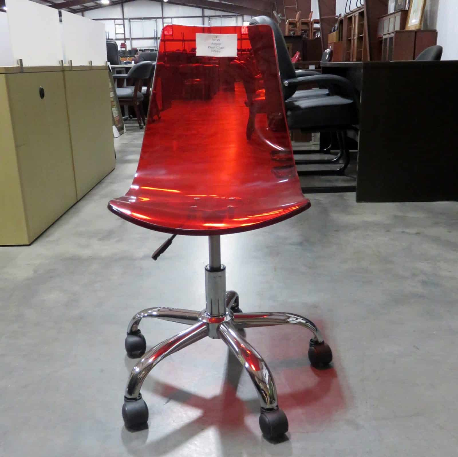 Acrylic Desk Chair