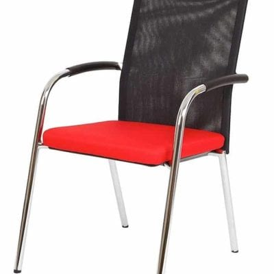 Outcome Reviver Mesh Back Guest Chair