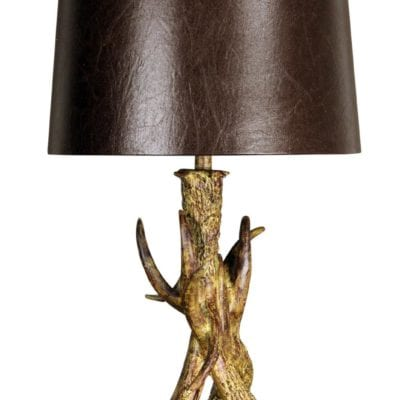 Style Craft Antler Table Lamp