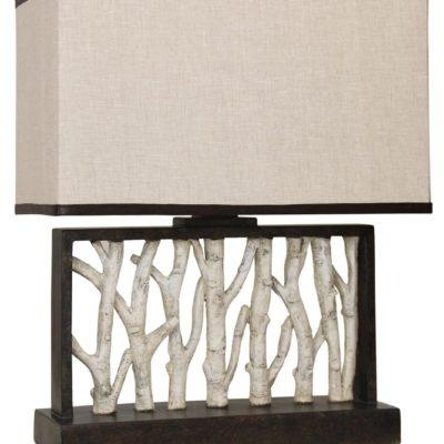Style Craft Rectangular Table Lamp