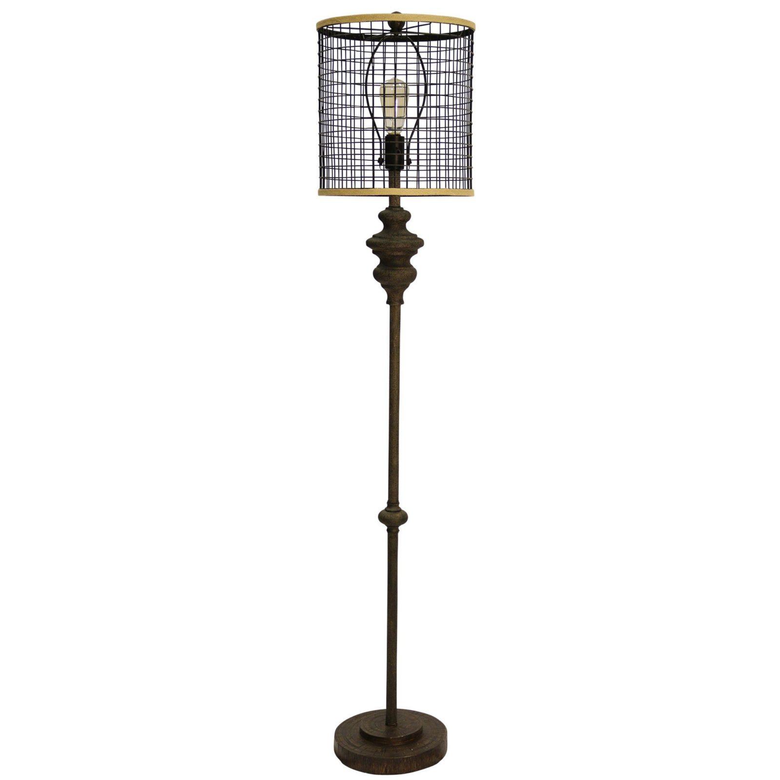 Style Craft Industrial Floor Lamp