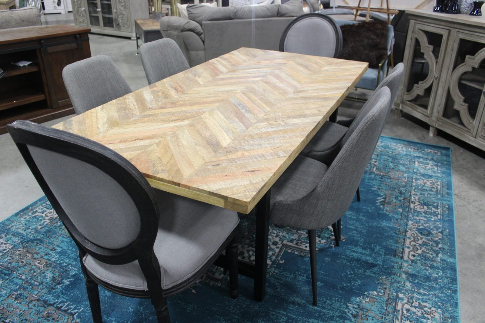 Rustic Dining Table By Scott Living Office Barn