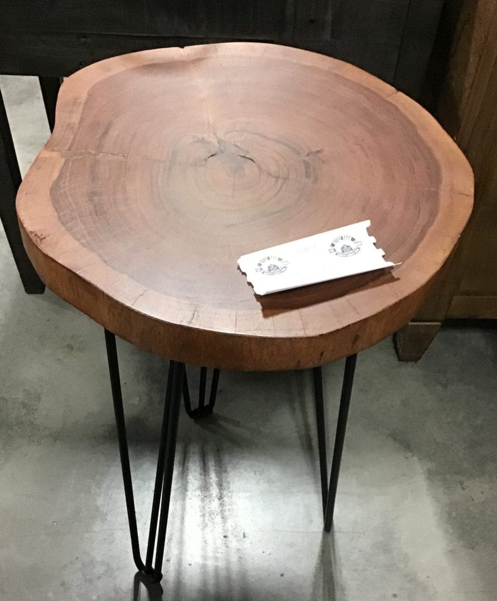 Live Edge End Table By Style Craft Office Barn